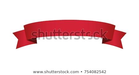 piros · bannerek · illusztráció · szett · hely · szöveg - stock fotó © UPimages