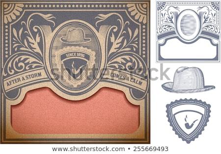Stockfoto: Heraldiek · vector · ontwerp · communie · silhouet