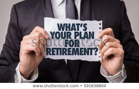 Retirement Savings Questions Stock photo © Lightsource