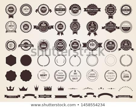 web · satisfacción · garantizar · insignias · seguridad - foto stock © genestro