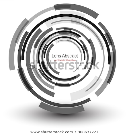 azul · lente · resumen · color · dom · fondo - foto stock © arenacreative