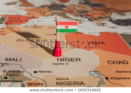 Miniature Flag of Niger Stock photo © bosphorus