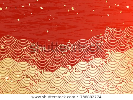japanese patterns, vector  Stock photo © beaubelle