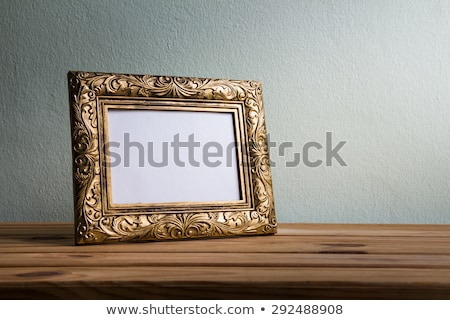 vacío · Polaroid · fotos · marcos · madera · arte - foto stock © burakowski