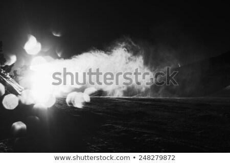 kar · makine · top · dışarı · sahte - stok fotoğraf © bigandt