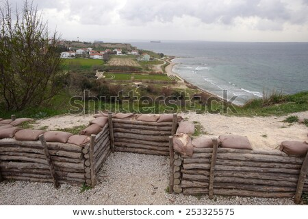 Army trenches at Anzac Cove Gallipoli Stock photo © backyardproductions