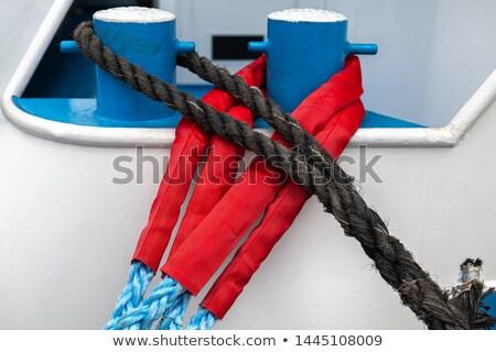 аннотация веревку узел вокруг морем металлический Сток-фото © franky242