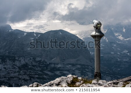 Telescopio alpes Austria primavera paisaje montana Foto stock © manfredxy