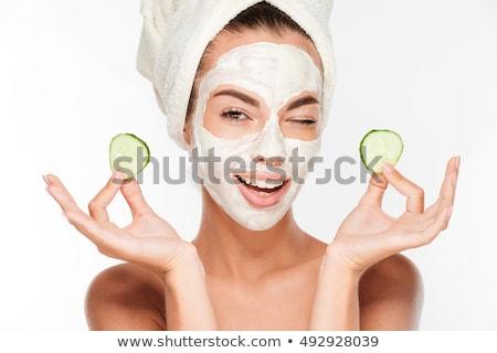 Młoda dziewczyna piękna higiena portret dość młodych Zdjęcia stock © stryjek