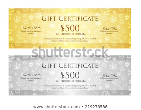 luxe · christmas · gouden · zilver · lint - stockfoto © liliwhite