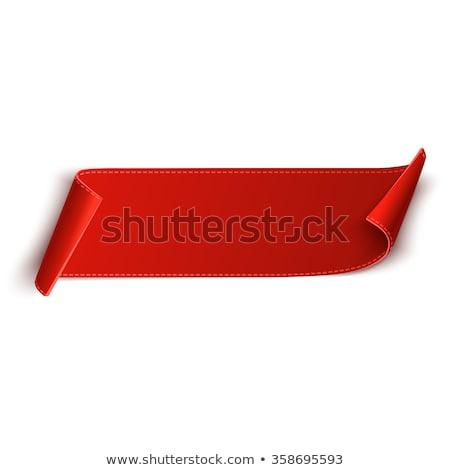 Rosso etichette internet etichetta cerchio riflessione Foto d'archivio © vadimone
