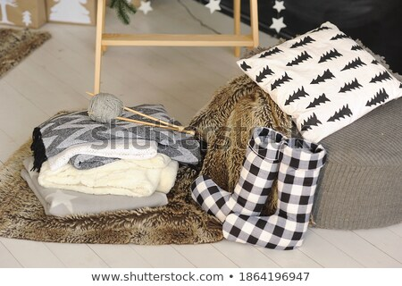 Christmas sock with gifts Stock photo © -Baks-
