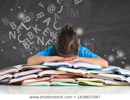 dyslexia stock photo © chrisdorney