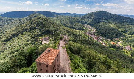 trifels castle stock photo © prill