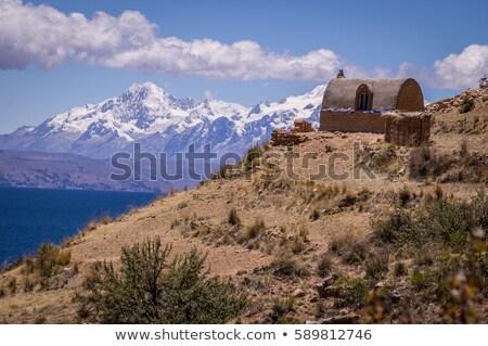 Isla de la Luna, Lake Titicaca, Bolivia Stock photo © ildi
