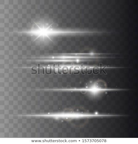 Obiektyw streszczenie świetle projektu pomarańczowy zielone Zdjęcia stock © sdecoret