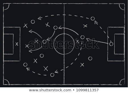 Football tactics Stock photo © bruno1998