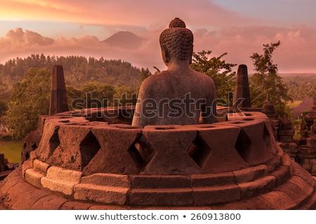 Tapınak java Endonezya seyahat ibadet heykel Stok fotoğraf © JanPietruszka