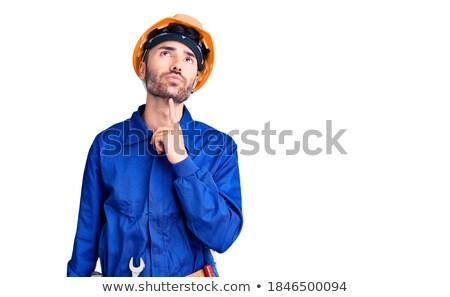 Technician with hand on chin looking up  Stock photo © wavebreak_media