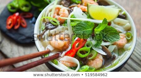 vietnamese food - fish Stock photo © 1986design