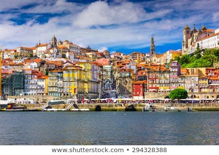 Ville Portugal historique centre métro pont Photo stock © rognar