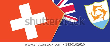 Switzerland and Anguilla Flags Stock photo © Istanbul2009