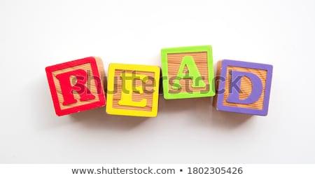 Stock fotó: Olvas · szó · egér · billentyűzet · gyerekek · fa