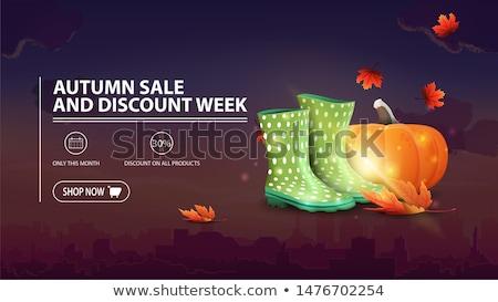 student discount yellow vector icon button stock photo © rizwanali3d