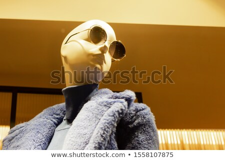 mannequin woman with fur with glasses Stock photo © Paha_L