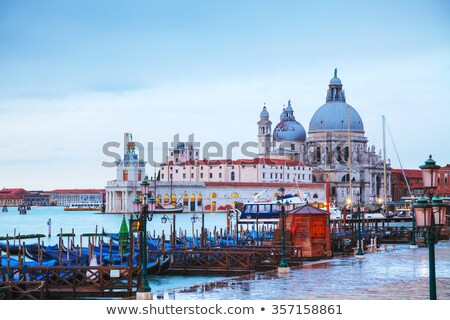 Di Santa Maria della Salute as seen from San Marco square Stock photo © AndreyKr
