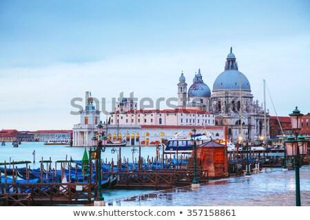 di santa maria della salute as seen from san marco square stock photo © andreykr