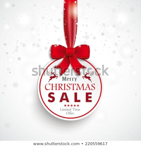 karácsony · csillagok · hópelyhek · eps · 10 · homályos - stock fotó © beholdereye