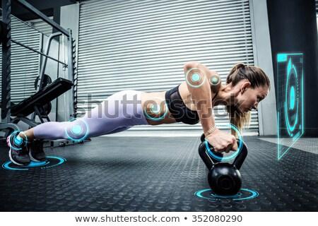 Fitness interface Stock photo © wavebreak_media