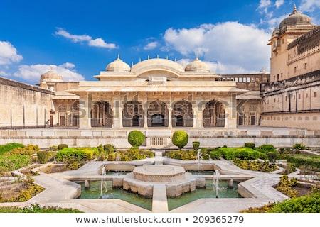 Dentro famoso âmbar forte Índia parede Foto stock © meinzahn