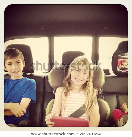 A tinted family car Stock photo © bluering