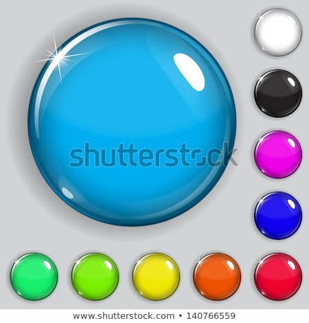 Circle buttons with small balls Stock photo © bluering