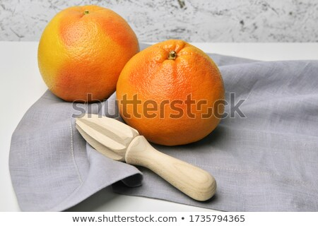 Colorful exotic still life of squeezed grapefruit Stock photo © ozgur