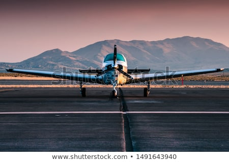 small private airplane stock photo © 5xinc