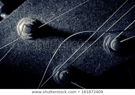 dusty old guitar  Stock photo © drobacphoto