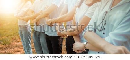 Human chain Stock photo © cundm