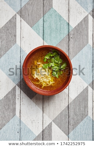 Deep pottery dish Stock photo © Digifoodstock