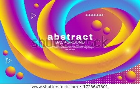 awesome minimal brochure template design set with style of lines Stock photo © SArts