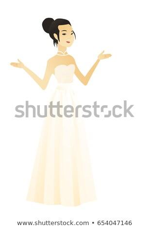 Asian verward verloofde armen jonge Stockfoto © RAStudio