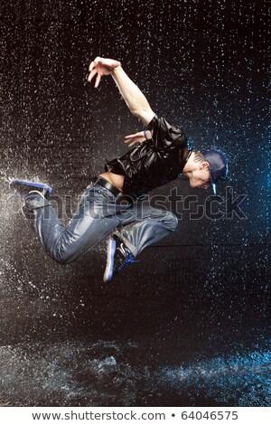 Сток-фото: мужчины · перерыва · танцовщицы · воды · большой · волна