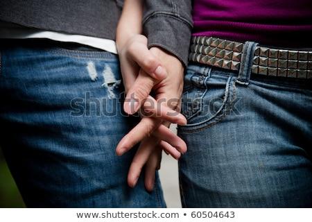 カップル · 手をつない · 愛 · 男 · 花嫁 - ストックフォト © wavebreak_media