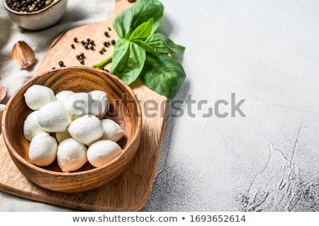 ミニ 食品 キッチン チーズ 朝食 ストックフォト © yelenayemchuk