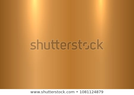 gold or bronze metal abstract technology background polished brushed texture vector illustration stock photo © pikepicture