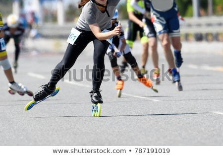 skating race stock photo © fisher