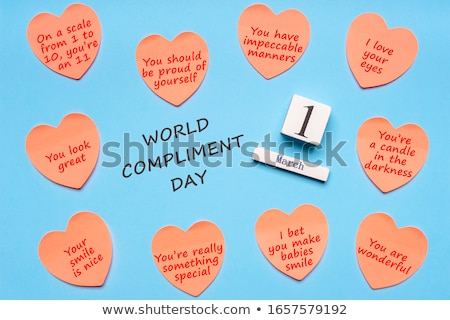 1 march Compliment Day Stock photo © Olena
