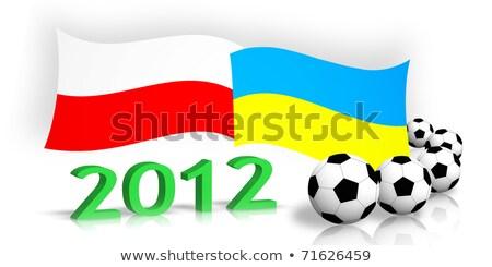 サッカー エンブレム ボール リボン ストックフォト © Winner